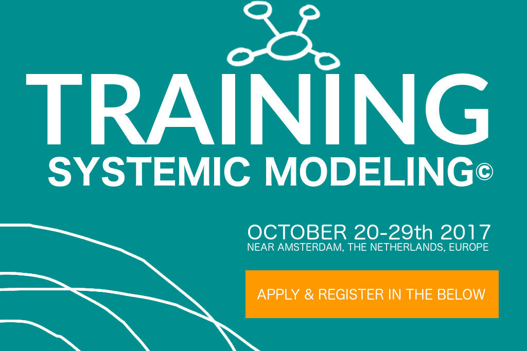 Systemic Modeling © October 2017 Training with BLOCKBUSTERS Consultancy
