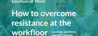 how to overcome resistance at the workfloor